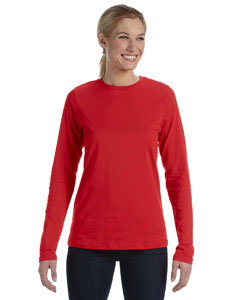 Red Missy Jersey Long-Sleeve T-Shirt