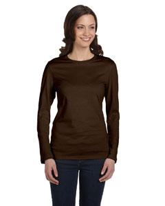 Chocolate Women's Jersey Long-Sleeve T-Shirt