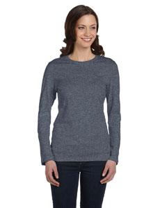 Deep Heather Women's Jersey Long-Sleeve T-Shirt