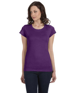 Team Purple Women's Sheer Jersey Short-Sleeve T-Shirt