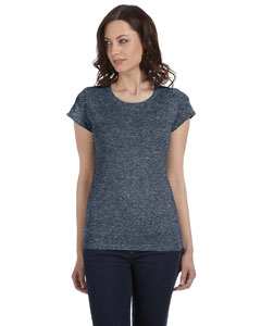 Deep Heather Women's Sheer Jersey Short-Sleeve T-Shirt