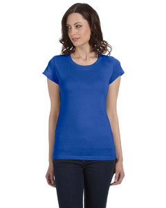 True Royal Women's Sheer Jersey Short-Sleeve T-Shirt