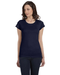 Midnight Women's Sheer Jersey Short-Sleeve T-Shirt