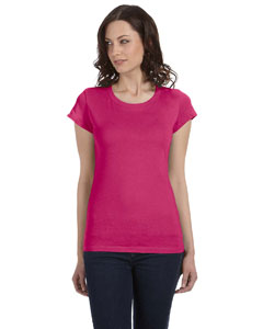 Berry Women's Sheer Jersey Short-Sleeve T-Shirt