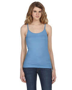 Ocean Blue Women's Sheer Jersey Tank
