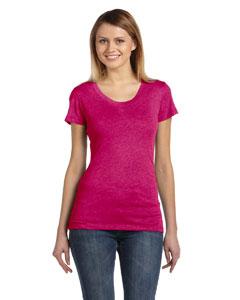 Berry Triblend Women's Triblend Short-Sleeve T-Shirt