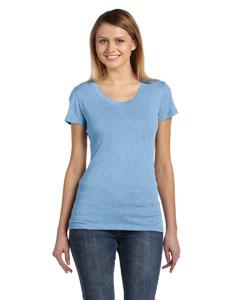Ath Blue Trblnd New Women's Triblend Short-Sleeve T-Shirt
