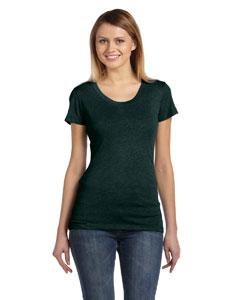 Emerald Triblend Women's Triblend Short-Sleeve T-Shirt