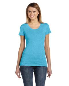 Aqua Triblend Women's Triblend Short-Sleeve T-Shirt
