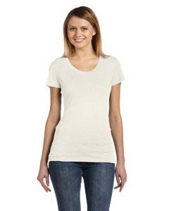 Oatmeal Triblend Women's Triblend Short-Sleeve T-Shirt