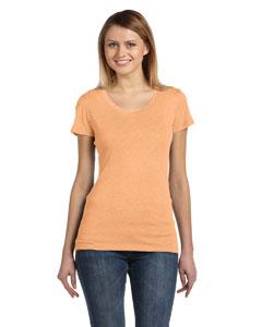Orange Triblend Women's Triblend Short-Sleeve T-Shirt