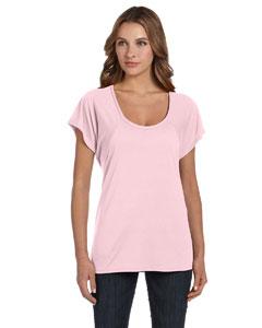 Soft Pink Women's Flowy Raglan T-Shirt