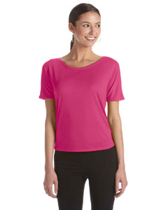 Berry Women's Flowy Open Back T-Shirt