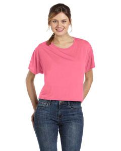 Neon Pink Women's Flowy Boxy T-Shirt