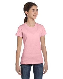 Pink Girls' Jersey Short-Sleeve T-Shirt