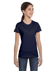 Navy Girls' Jersey Short-Sleeve T-Shirt