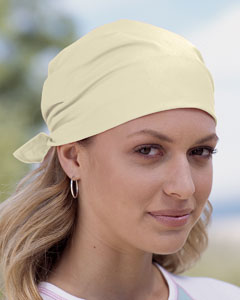 Yellow Solid Bandana