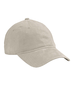 Stone Heavy Brushed Twill Unstructured Cap