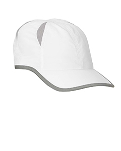 White Performance Cap