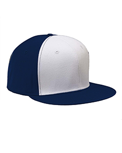 Navy/white Flat Bill Cap