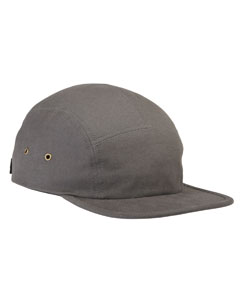 Grey Square Panel Cap
