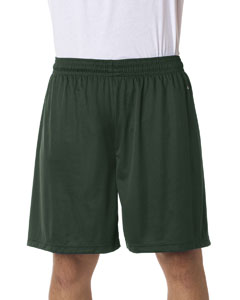 "Forest Green Adult B-Core 7"" Performance Shorts"