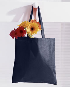 Navy 8 oz. Canvas Tote