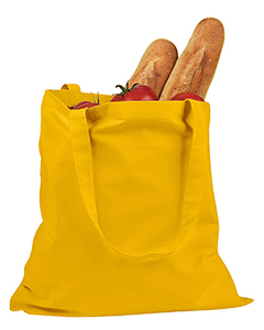 Yellow 6 oz. Canvas Promo Tote
