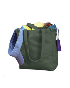 Forest 12 oz. Canvas Book Tote
