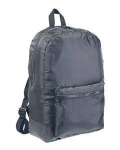 Grey Packable Backpack