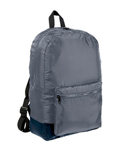 Grey/navy Packable Backpack