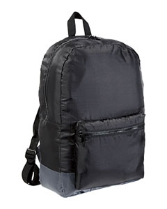 Black/grey Packable Backpack