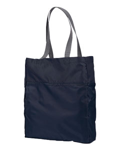 Navy Packable Tote