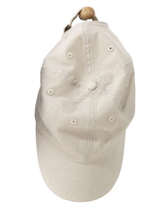 Stone 6-Panel Brushed Twill Unstructured Cap