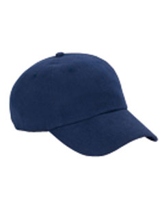 Navy 6-Panel Washed Twill Low-Profile Cap