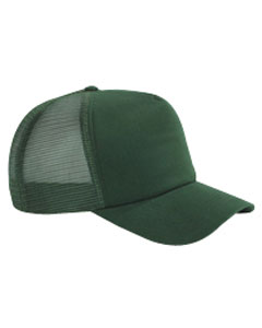 Forest 5-Panel Twill Trucker Cap