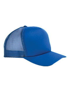 Royal 5-Panel Twill Trucker Cap