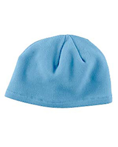 Ice Blue Knit Fleece Beanie