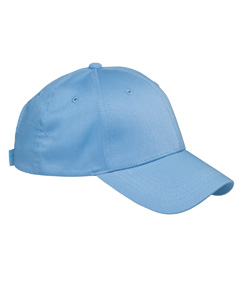 Carolina Blue 6-Panel Structured Twill Cap