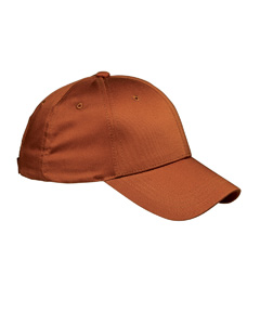 Texas Orange 6-Panel Structured Twill Cap