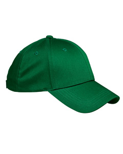 Kelly Green 6-Panel Structured Twill Cap