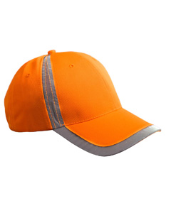 Bright Orange Reflective Accent Safety Cap