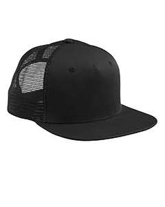 Black/black Surfer Trucker Cap