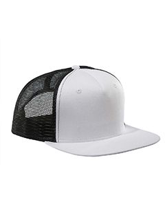 White/black Surfer Trucker Cap