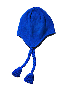 Royal Knit Earflap Beanie