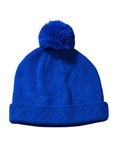 Royal Knit Pom Beanie