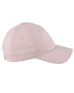 Blush 6-Panel Twill Unstructured Cap