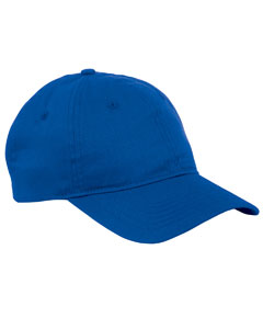 True Royal 6-Panel Twill Unstructured Cap