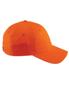Team Orange 6-Panel Twill Unstructured Cap
