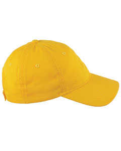 Sunray Yellow 6-Panel Twill Unstructured Cap